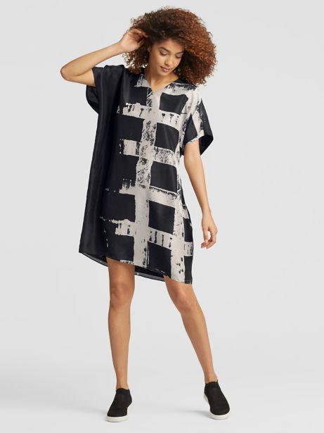 handpainted dress